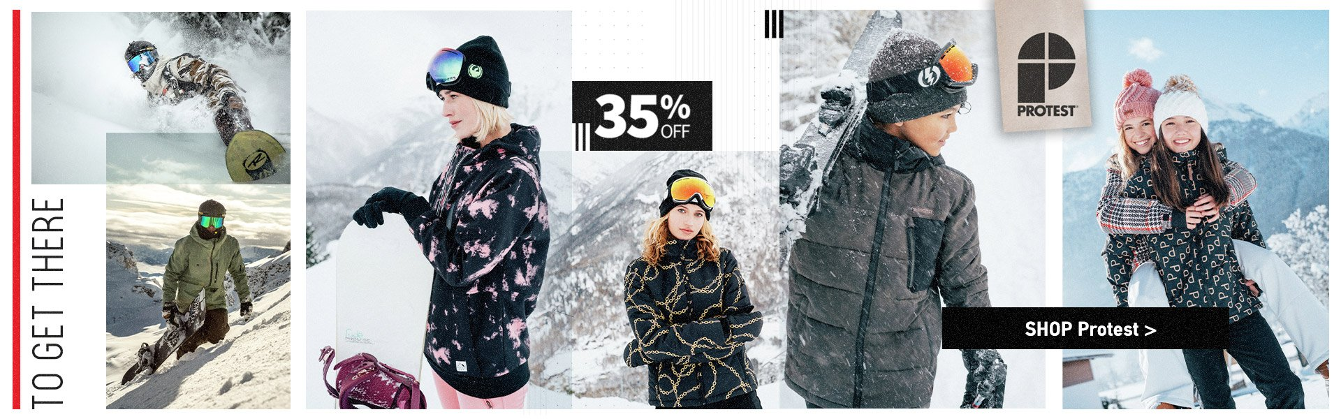 PROTEST 35% OFF