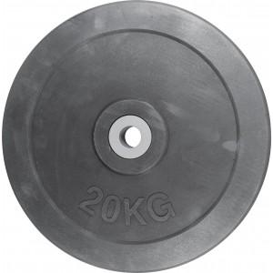 Δίσκος με Επένδυση Λάστιχου 28mm 20kg