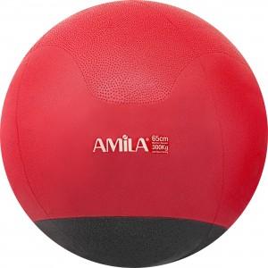 Μπάλα γυμναστικής Φ65cm δίχρωμη