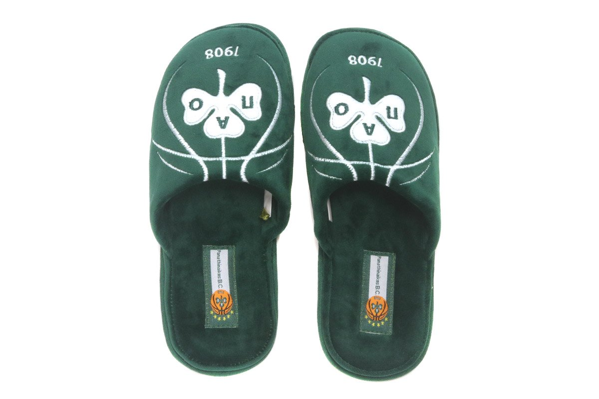 PAREX BOYS HOME SLIPPERS PAO BC (101-12-100 GREEN) ΠΡΑΣΙΝΟ